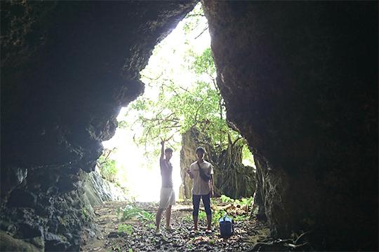 あーりおーる/洞窟探検