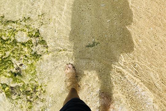 石垣の海(島あそび あーりおーる)