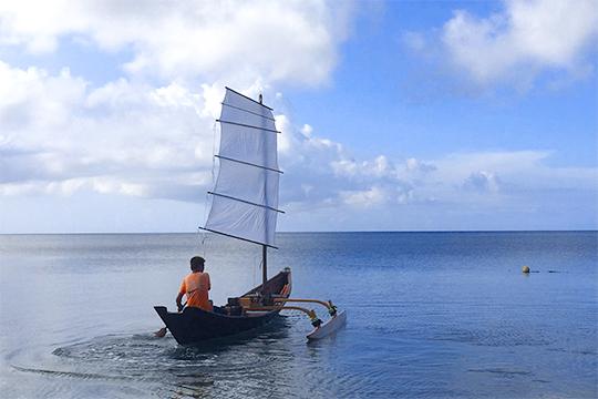 帆かけサバニ(島あそび あーりおーる)