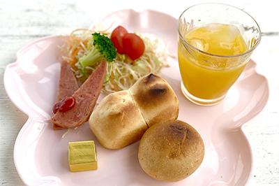 あーりおーるカフェ朝食500円